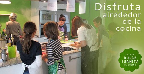 Talleres de cocina para ni os en madrid dulce juanita for Cumpleanos cocina para ninos