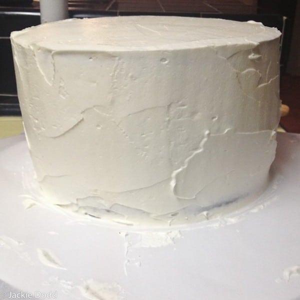 cómo hacer una tarta de Batman