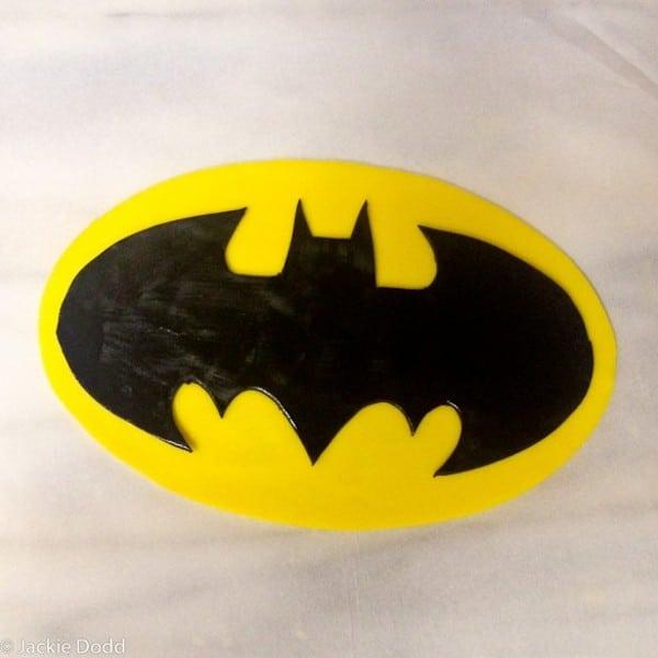 receta de tarta de cumpleaños de Batman