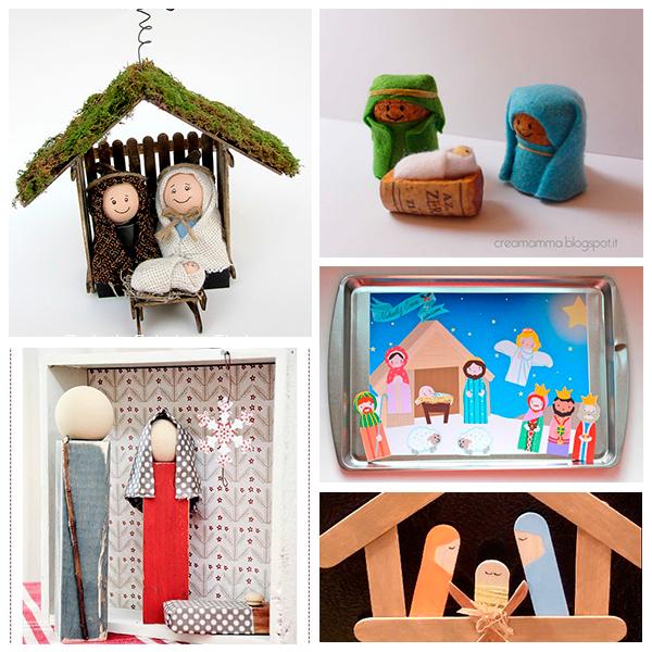 5 Ideas Para Hacer Un Portal De Belén De Navidad Pequeocio