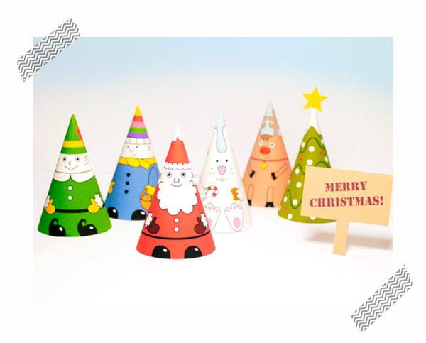 adornos de navidad para imprimir gratis