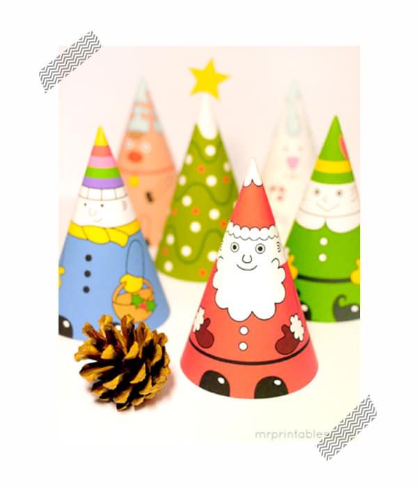 Adornos de navidad para imprimir gratis - Adornos de papel para navidad ...