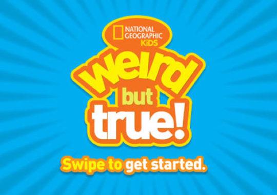 Weird but true, ¡la app para niños curiosos!
