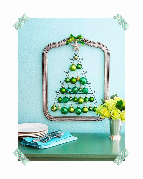 6 rboles de navidad originales para la pared pequeocio - Originales arboles de navidad ...