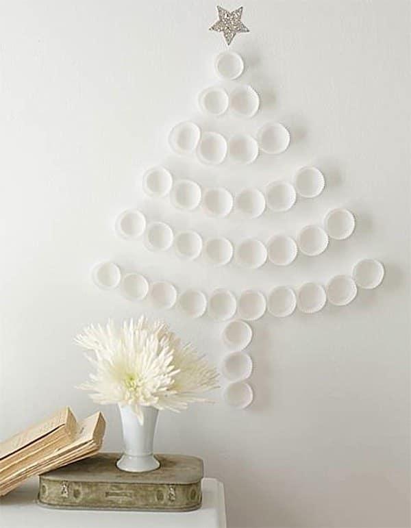 arboles de navidad de pared baratos y originales