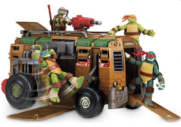 Juguetes para Navidad ¡de las Tortugas Ninja!
