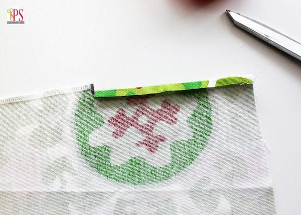 paso a paso para hacer una bolsa para regalo de tela