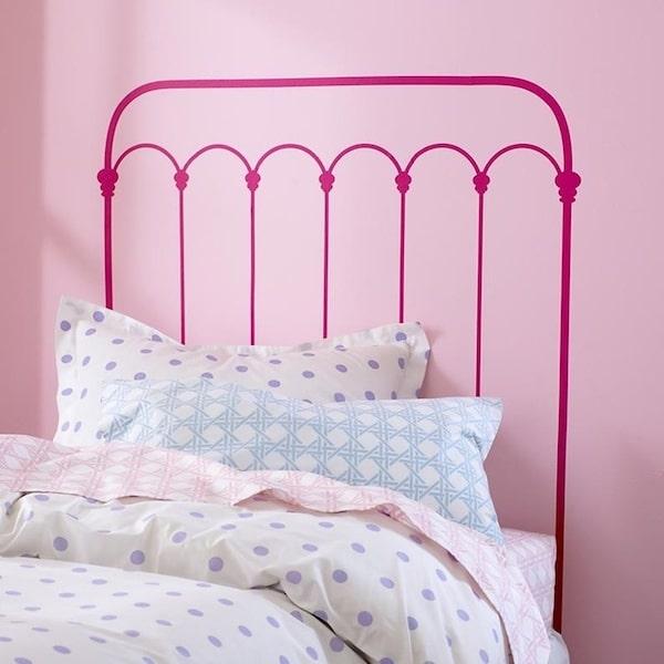 Ideas de decoraci n infantil cabeceros de cama pintados - Ver habitaciones infantiles ...