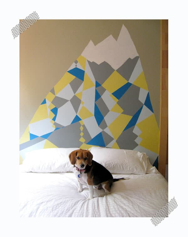 ideas para pintar los cabeceros en la pared