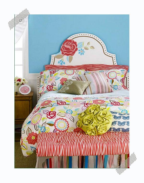 Ideas de decoraci n infantil cabeceros de cama pintados - Dibujos en la pared infantiles ...