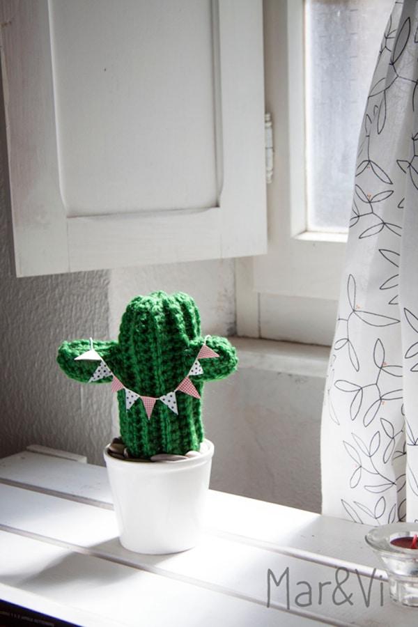 cactus amigurumi paso a paso
