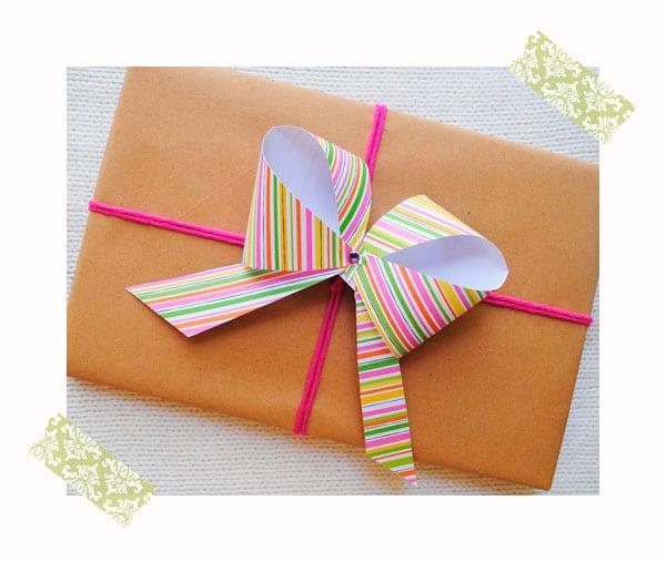 cmo hacer un lazo fcil para envolver regalos