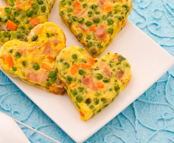 Receta infantil f cil tortilla de verduras para ni os for Menus faciles y sanos