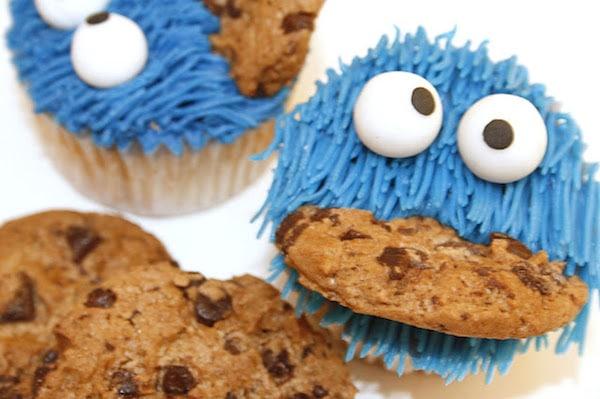 Cupcakes Monstruo de las Galletas 5