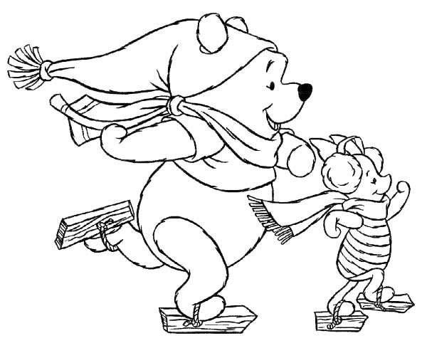 Dibujos de Navidad para colorear de Disney