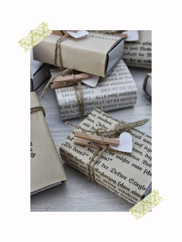 10 nuevas ideas originales para envolver regalos pequeocio - Envolver libros de forma original ...