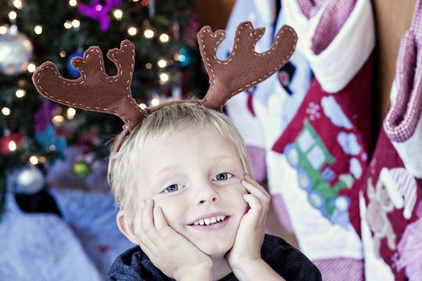 photocall navideño para las felicitaciones