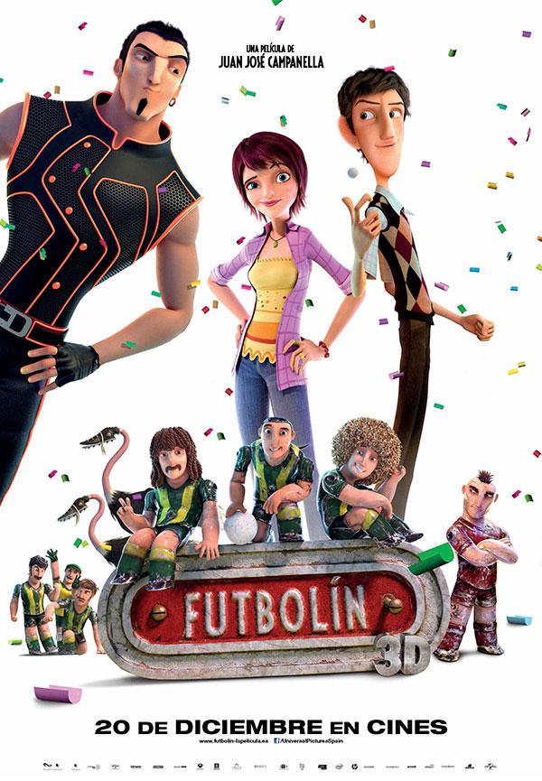 Asturias con niños: Cine infantil en Siero de gratis: Rio y Futbolín