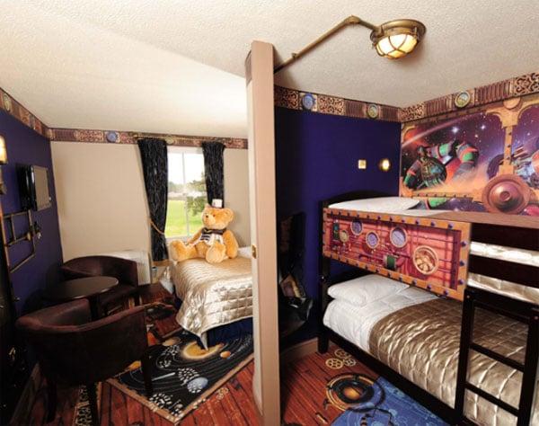 Alojamiento con ni os en londres hotel alton towers - Habitaciones tematicas para ninos ...