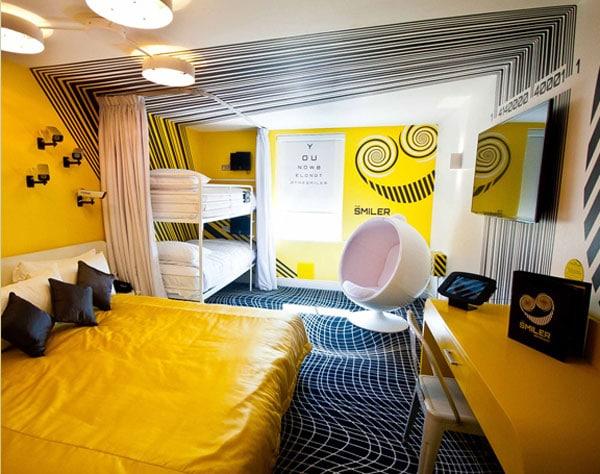Un hotel temático en Londres para ir con los niños