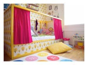ideas para personalizar las camas infantiles ikea
