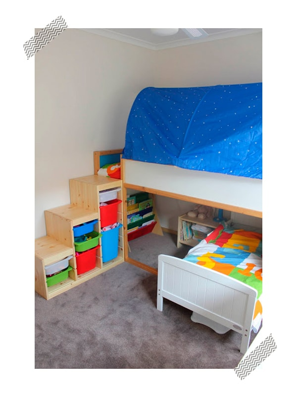Decoraci n infantil ikea hack de las camas infantiles for Ideas para camas