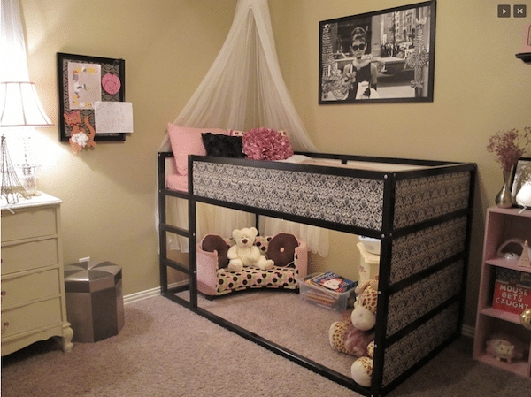 Kinderbett Mit Gästebett Ikea ~ Decoración infantil Ikea Hack de las camas infantiles