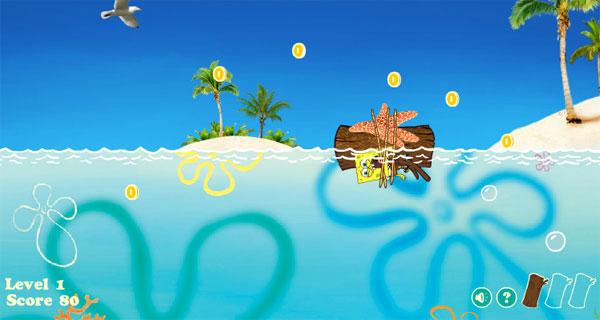 Juegos online gratis de Bob Esponja  Pequeocio