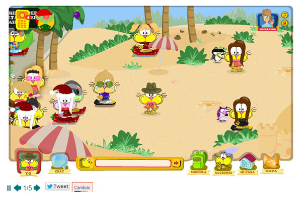juego online para ni os mundo gaturro pequeocio