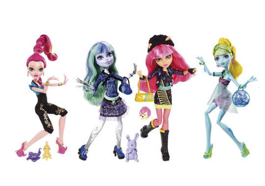 Nuestra selección de juguetes: Muñecas Monster High 13 Monstruodeseos