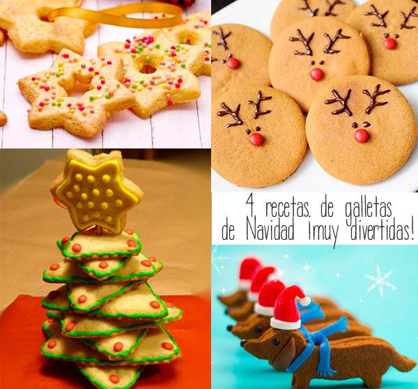 4 Recetas De Galletas De Navidad Muy Divertidas