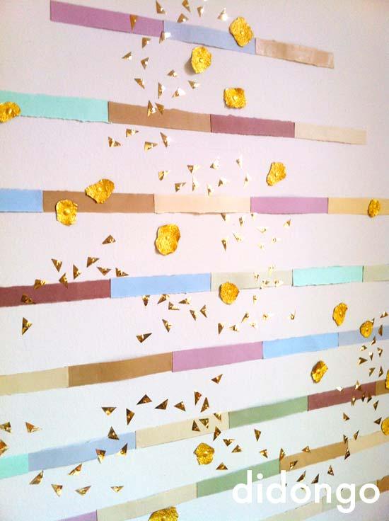Un rbol de navidad f cil y divertido pequeocio - Como hacer un arbol de papel grande ...