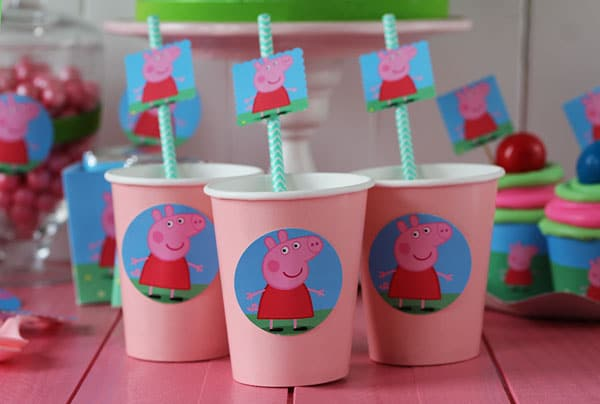 fiesta pepa pig imprimibles gratis