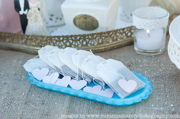 bolsitas de té románticas para san valentín