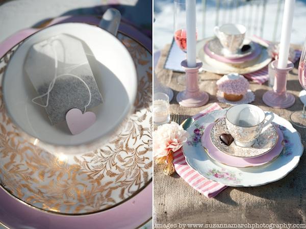 bolsitas de té personalizadas para San Valentín