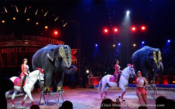 Gran Circo Mundial en Madrid y Valencia