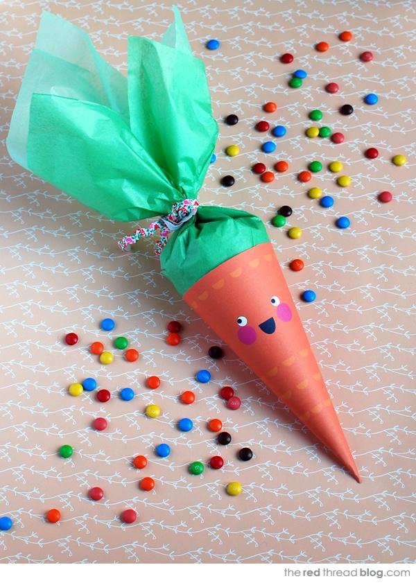 zanahoria para rellenar con cuches