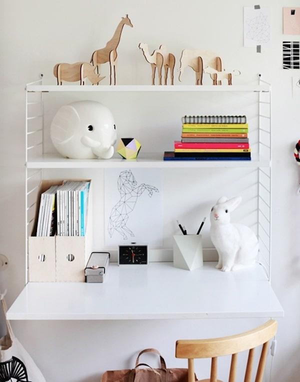 5 ideas para escritorios infantiles pequeocio. Black Bedroom Furniture Sets. Home Design Ideas