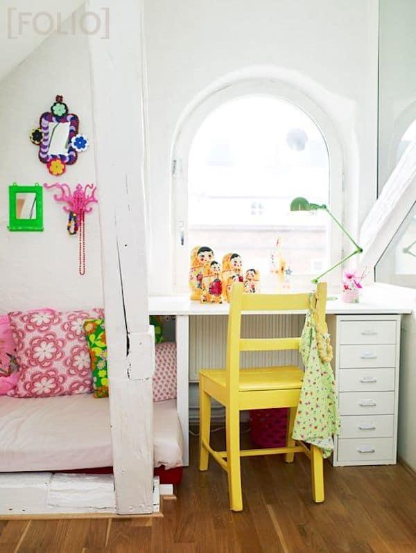 ideas para un escritorio infantil