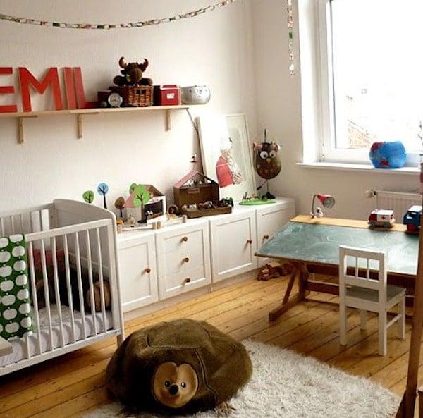 escritorio infantil luminoso