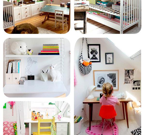 20 ideas para escritorios infantiles insp rate - Escritorios para espacios reducidos ...