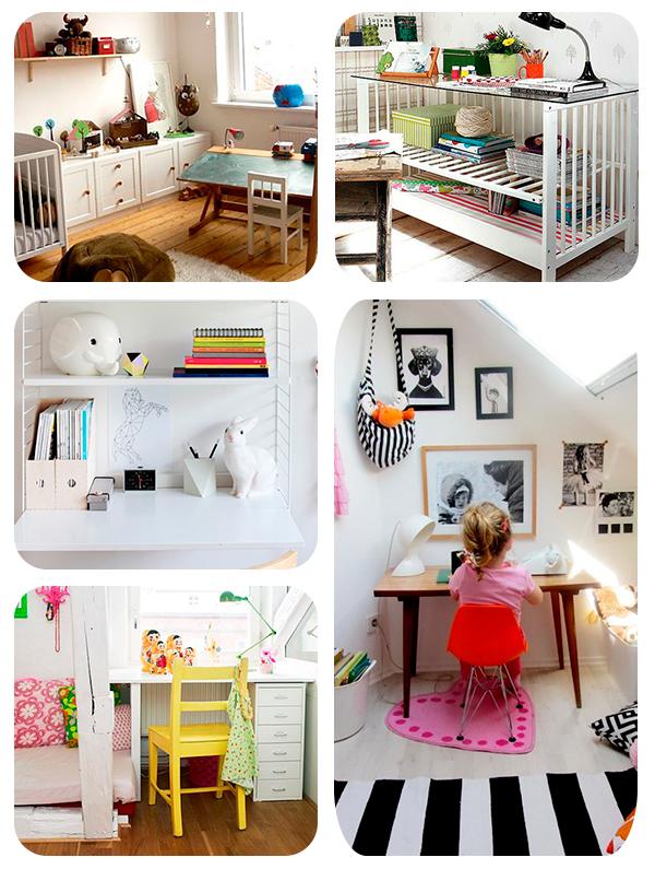 5 ideas para escritorios infantiles pequeocio for Escritorios de ninos