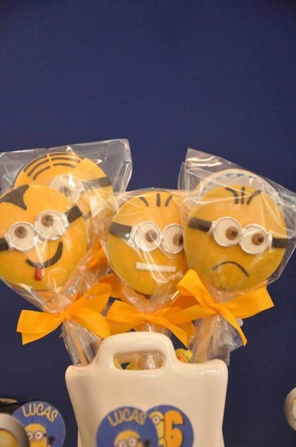 fiesta temática de cumpleaños de lo minions