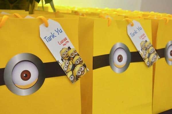 ideas para un cumpleaños infantil de los minions