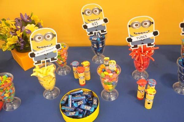 ideas para una fiesta de cumpleaños de los minions