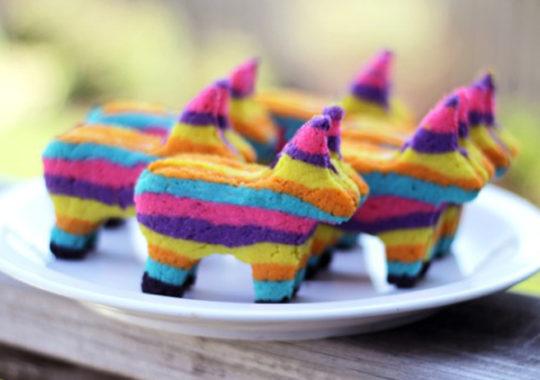 recetas divertidas: galletas piñata