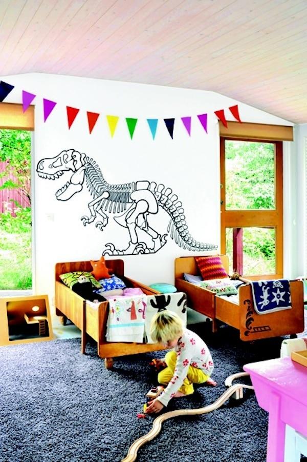4 habitaciones infantiles de dinosaurios - Ver habitaciones infantiles ...