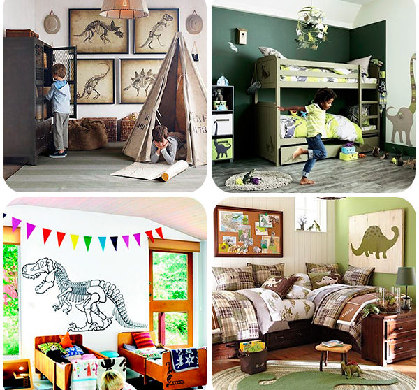 4 habitaciones infantiles de dinosaurios - Habitaciones infantiles decoradas ...