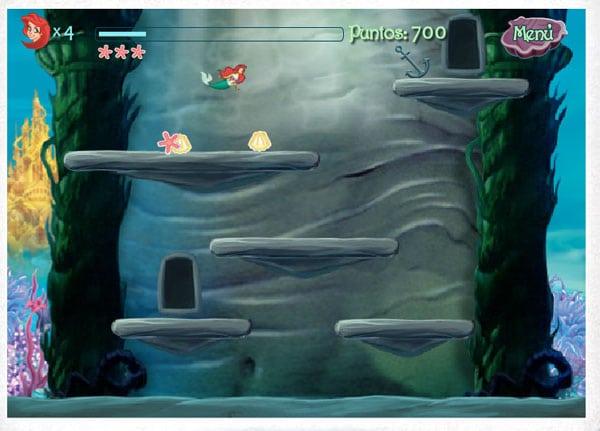Juegos infantiles online de las Princesas Disney