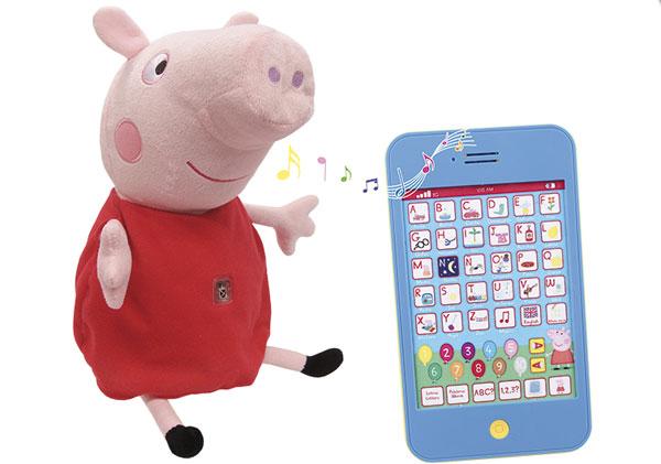 Peppa pig juguetes perfectos para los m s peque os - Peppa cochon noel ...